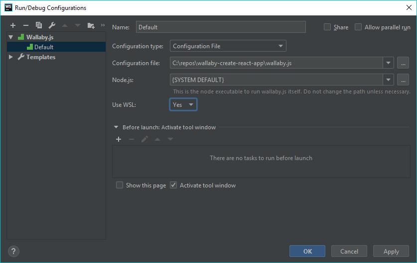 Wallaby js Tutorials: JetBrains IDEs tutorial